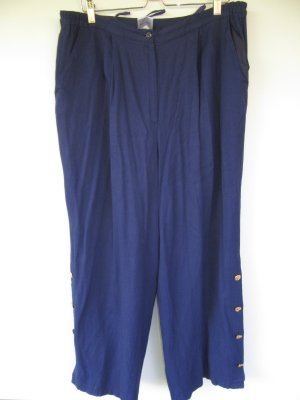 Vintage Culottes donkerblauw