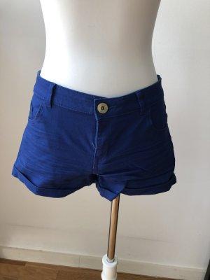 Blaue Hotpants