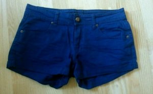 Blaue Hotpants von Amisu