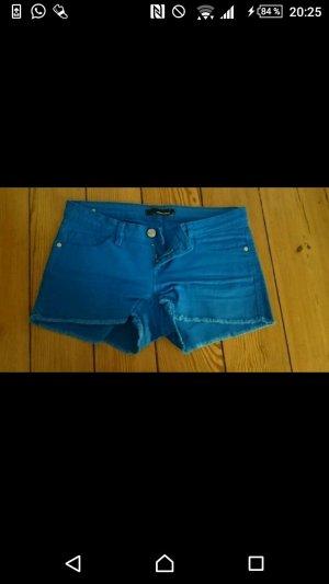 Blaue Hotpants von Tally Weijl