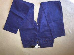 Blaue Hüft jeanshose