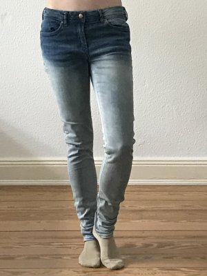 blaue Ichi Jeans mit Verlauf Gr. W29 L34