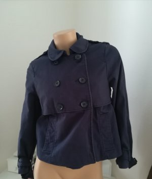 H&M Pea Jacket blue
