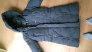 Woolrich Veste d'hiver bleu acier coton
