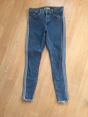 Primark High Waist Jeans steel blue