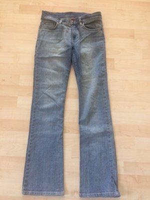 Blaue Jeans Boot Cut 27
