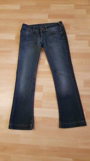 Cross Pantalón de cinco bolsillos azul