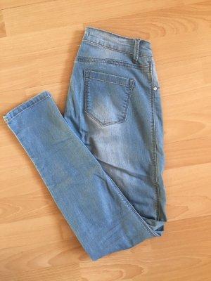 Straight Leg Jeans azure-light blue
