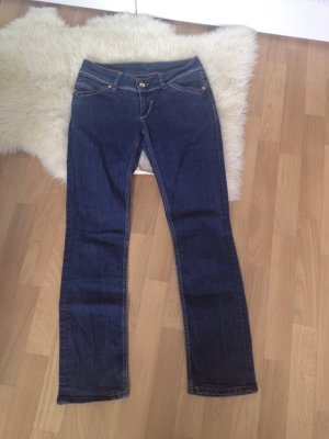 Tommy Hilfiger Jeans a gamba dritta multicolore
