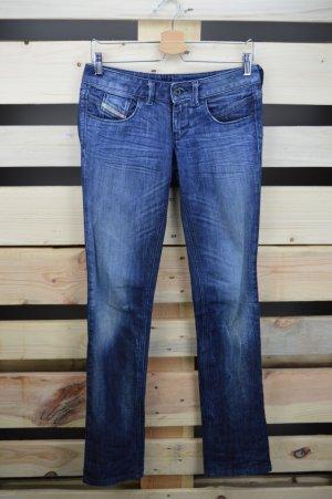 Blaue Jeans Diesel Größe W27L32 Lowette