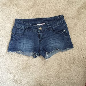 Blaue Jeans Hotpants Shorts Gr. 36 S