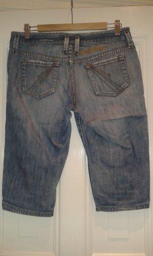 blaue Jeans kurze Hose von Billabong Größe 7