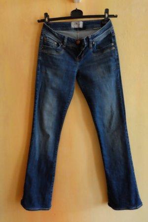 blaue Jeans mit leichtem Schlag von LTB Gr. S