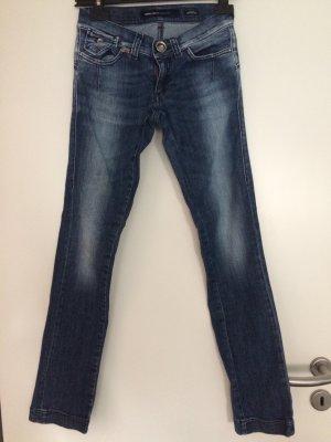Blaue Jeans mit Verwaschungen von Miss sixty, gerades Bein