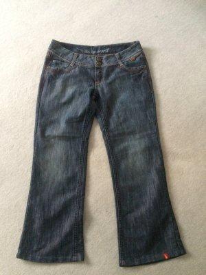 blaue Jeans mit weiten Beinen von EDC by Esprit - Size 31 - Gr. 40