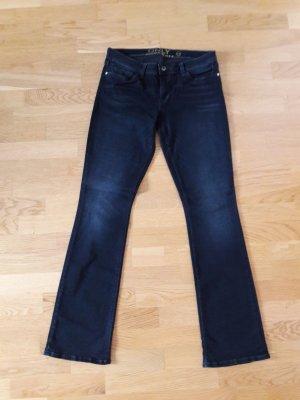 blaue Jeans / Schlaghose von Only