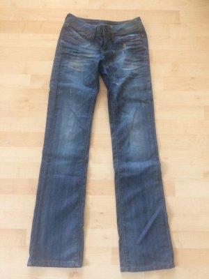 Blaue Jeans Used Look S