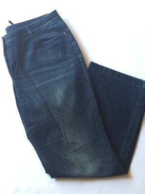 Blaue Jeans von Madeleine Five-Pocket-Style Gr. 46