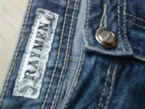 blaue Jeans von Raymen in Größe 36