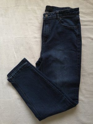 Reserved Hoge taille jeans blauw-donkerblauw