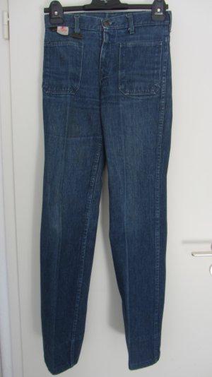 Blaue Jeans von Wild Cat; Vintage; Grösse 36