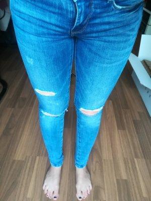 blaue Jeans Zara