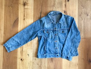 Blue Motion Denim Jacket multicolored