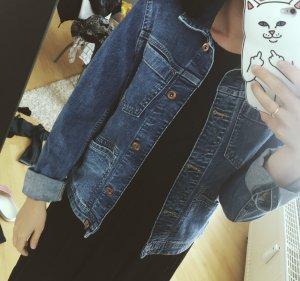 Blaue Jeansjacke H&M