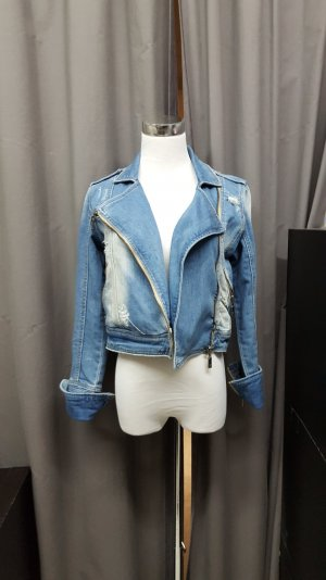 blaue Jeansjacke von Fishbone
