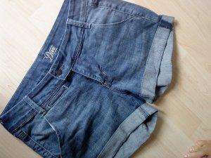 Old Navy Shorts azure-steel blue cotton