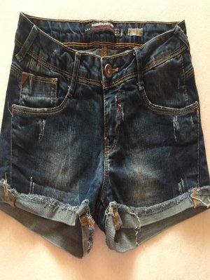 Blaue Jeansshorts Gr 38
