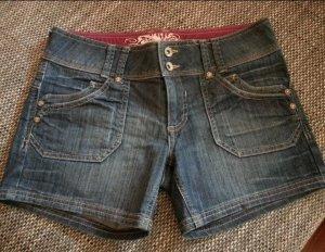 Blaue Jeansshorts von C&A