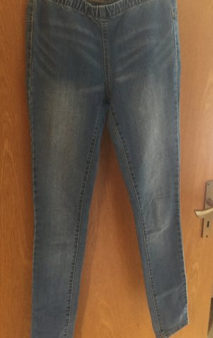Blaue Jeggings, Gr. S/M