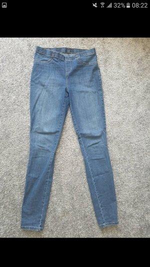 Blaue Jeggings, Jeans