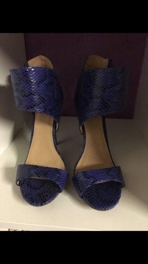 blaue JustFab Sandalen