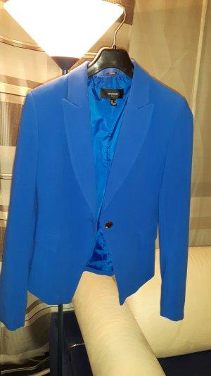 Blaue klassische Jacke Mango Suit Neu Gr. S