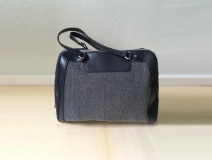 Blaue Koffer Handtasche im 60ties Style