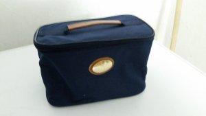 Blaue Kosmetik Tasche