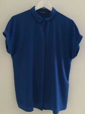 Blaue kurzärmlige Bluse von Kiomi