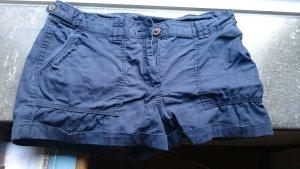 blaue kurze Hose von H&M
