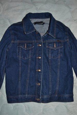 blaue lässige Jeansjacke Vintage Forelli Jeanswear
