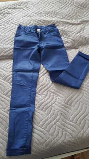 blaue (leicht glänzende) Hose von Vila