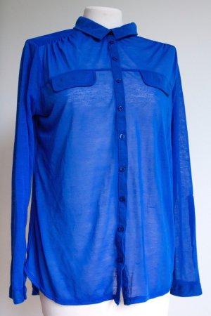 Blaue leichte Bluse/Hemd 36/S