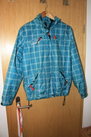 Raincoat neon blue