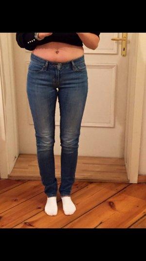 blaue LEVIS Skinny Jeans demi curve