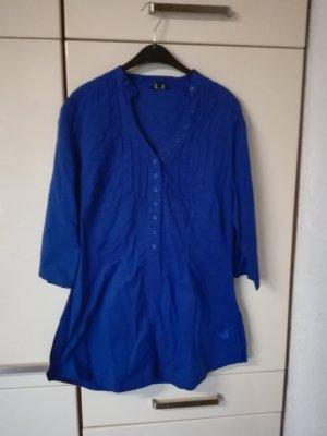 blaue Longbluse von Miss H.