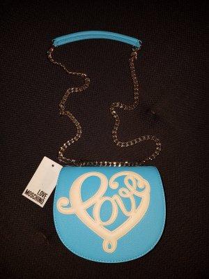 Blaue Love Moschino Handtasche - NEU!