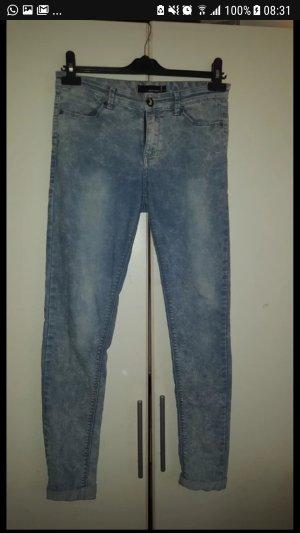 Blaue low waist jeans