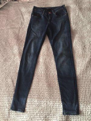 Blaue low waist Jeans Amsterdams Blauw von Maison Scotch neu