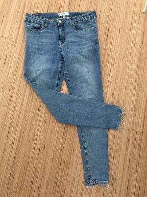 Mango Boot Cut Jeans blue